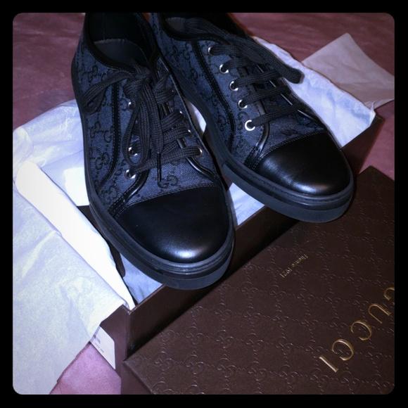 b220a9cd484 Gucci Shoes -  Final price  Gucci Tess Piombo Nero Sneakers 38.5
